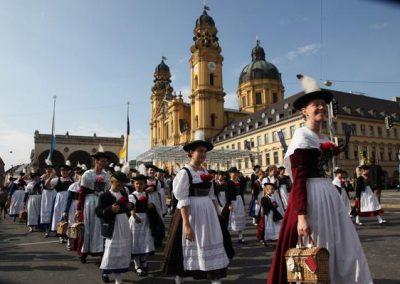 Trachtenumzug in München