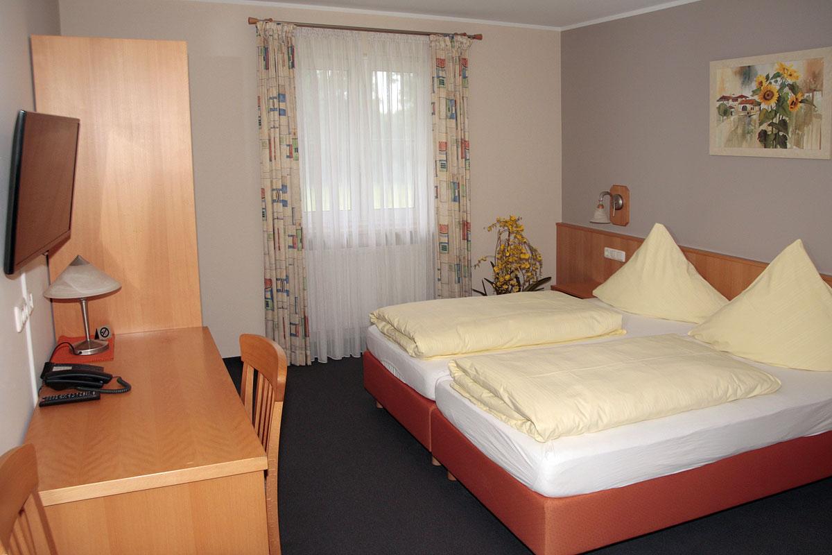 Eines unserer komfortablen Doppelzimmer