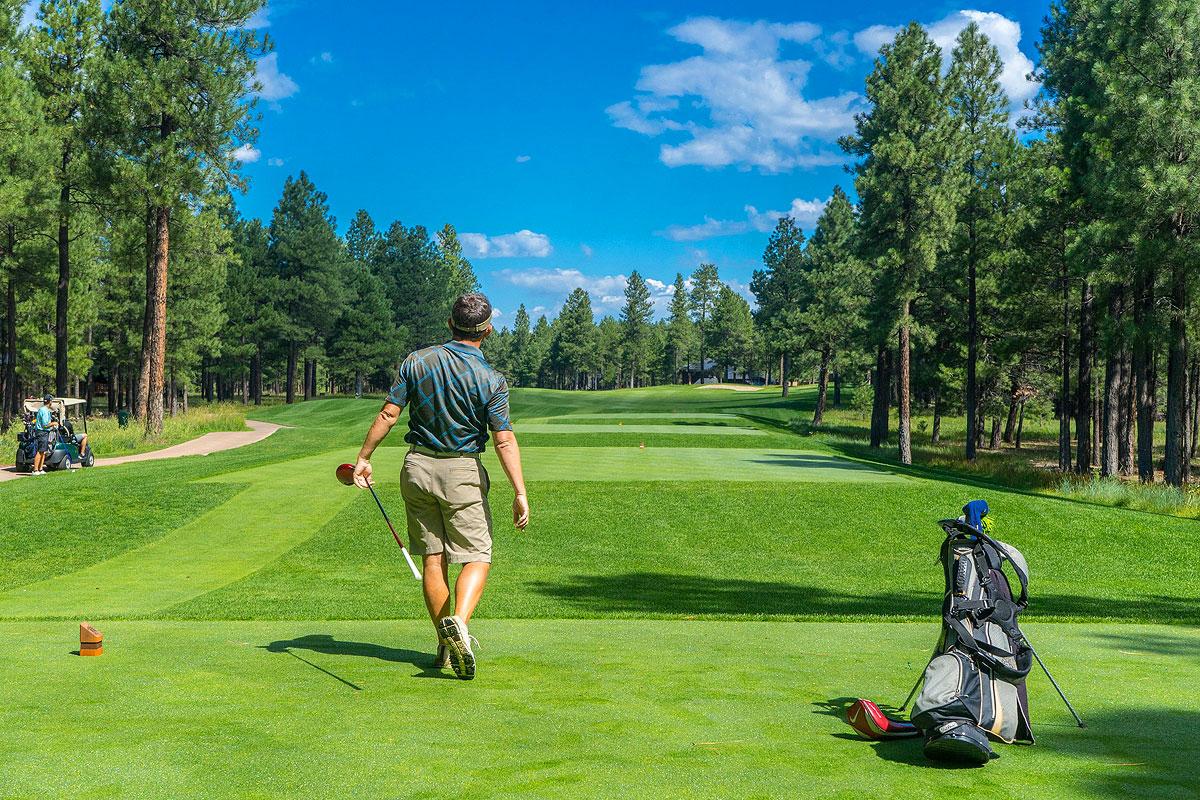 Golf spielen rund um den Bergmoarhof