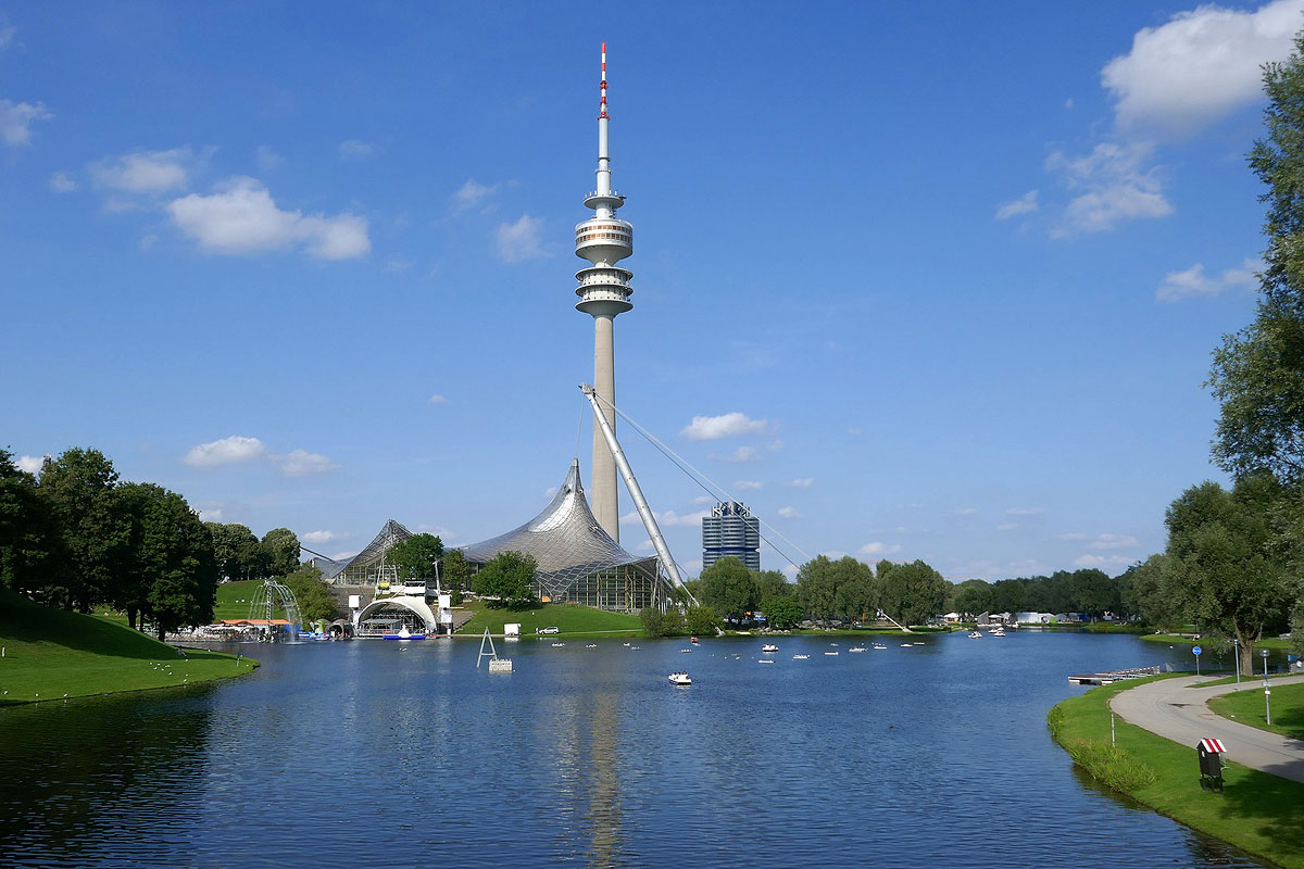 Der Münchner Olympiapark: Eine interessantes und beeindruckendes Ausflugsziel in unserer Nähe